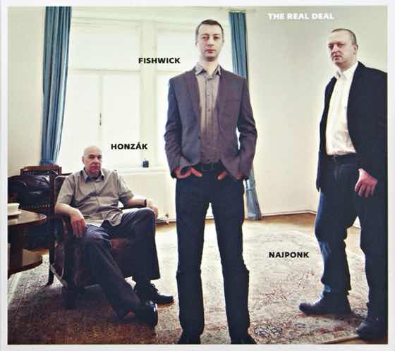 Album cover: The Real Deal | Najponk, Honzák, Fishwick