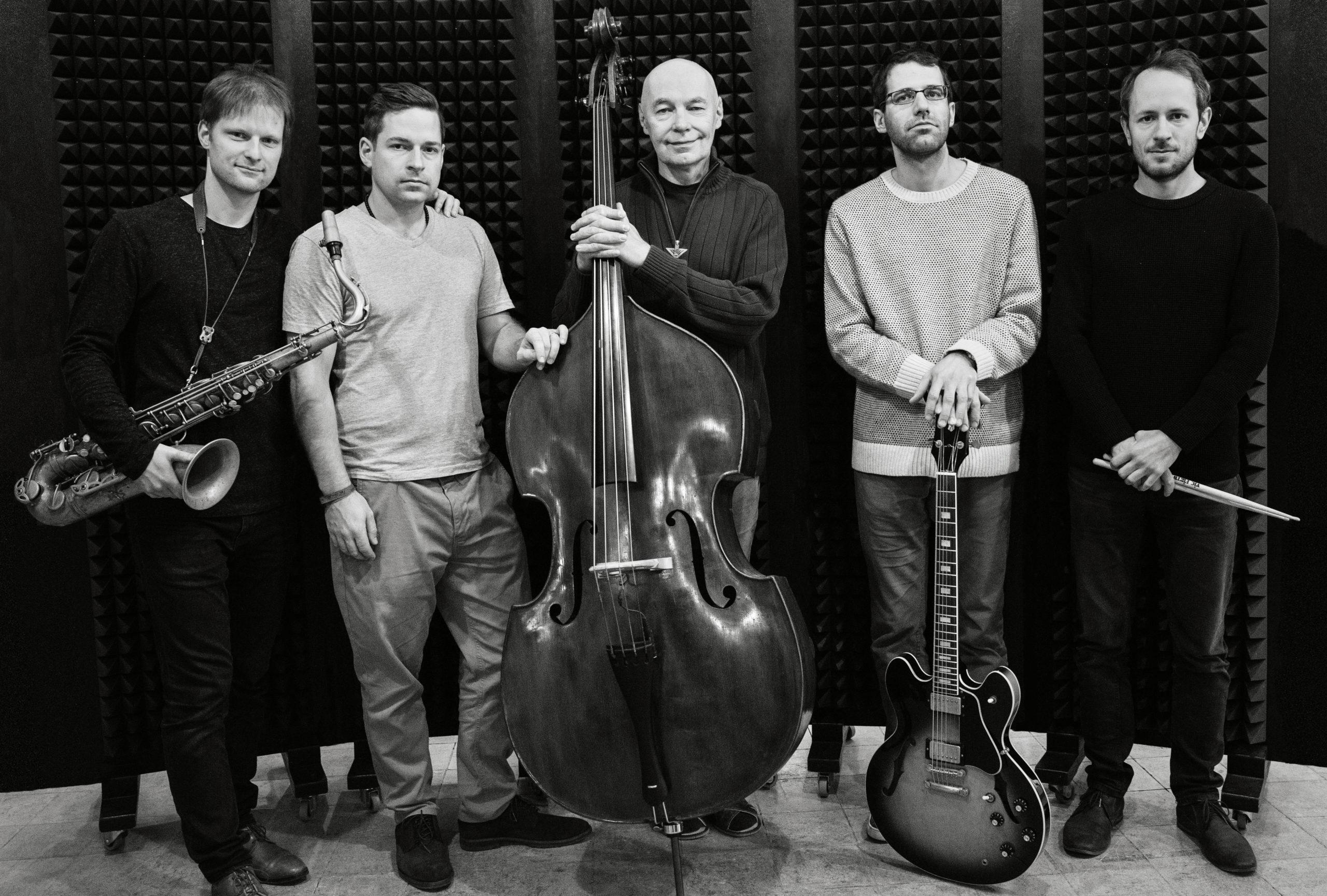 Press foto kapely Jaromír Honzák Quintet, foto Zuzana Bohnisch