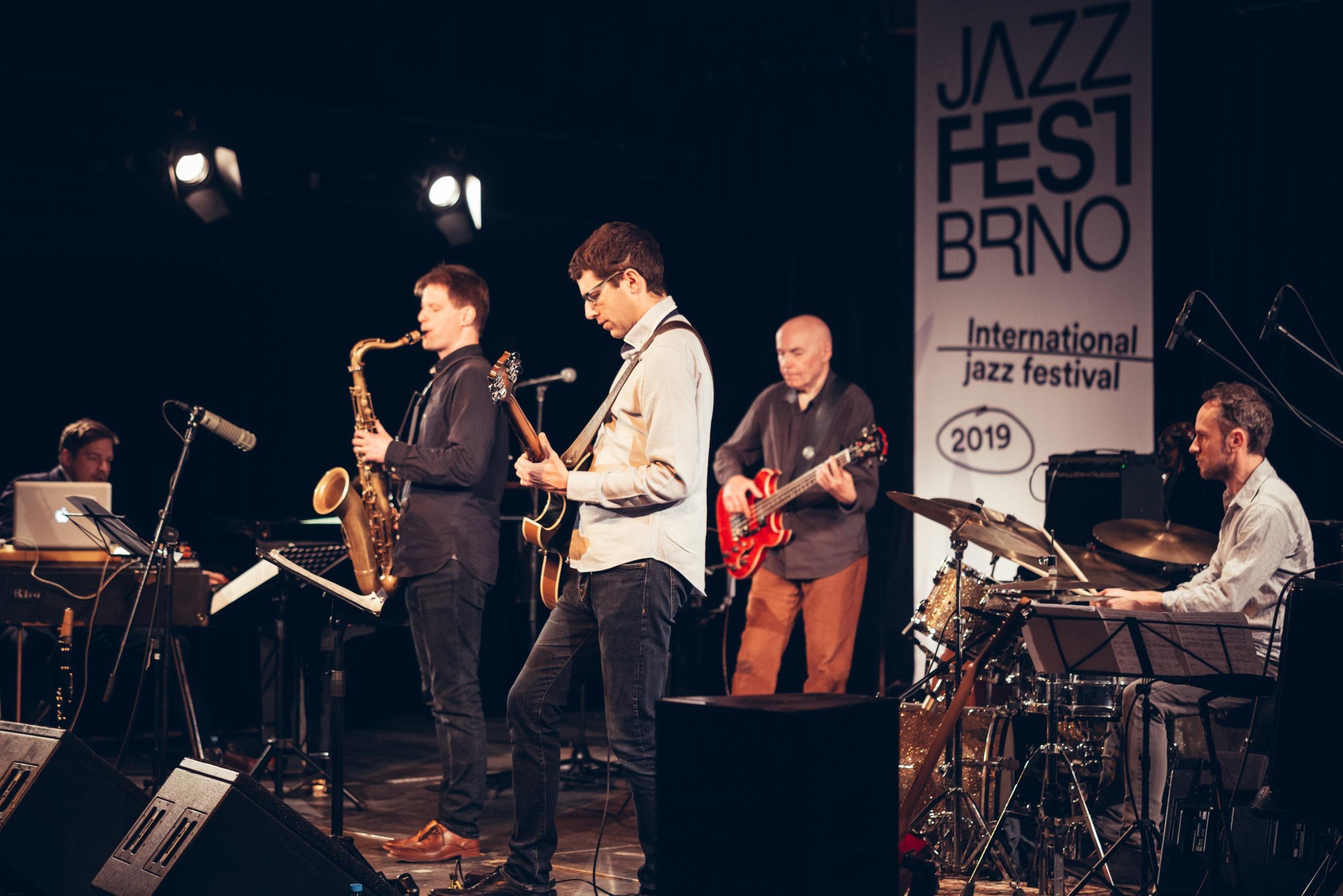 Press foto kapely Jaromír Honzák Quintet