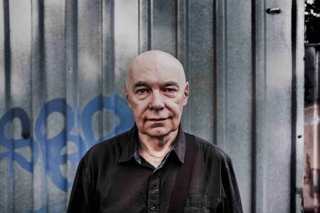 Portrait of Jaromír Honzák, photo by Dušan Tománek